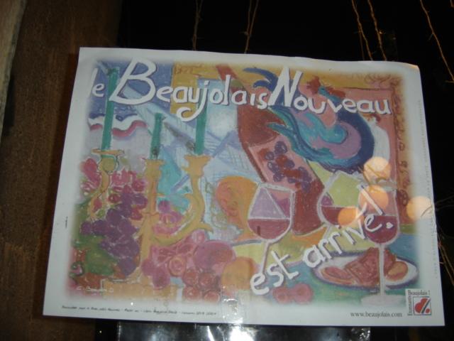 Lyon: Beaujolais Nouveau estarrivé!