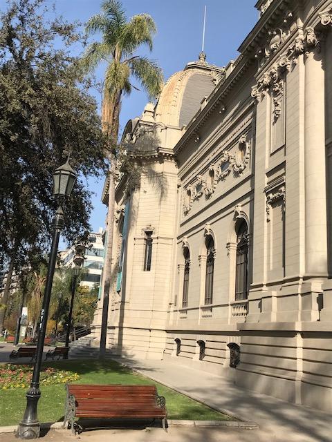 Museu de Belas Artes de Santiago doChile