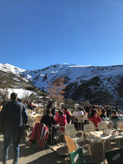 Sierra Nevada – a estação de esqui daAndaluzia